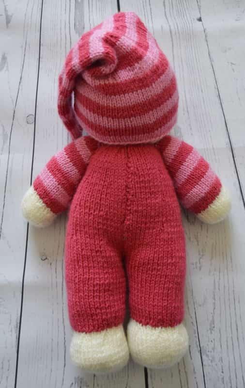 Kbp 141 Knitting By Post Easy Knit Dolly Knitting Pattern
